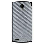 Snooky 43482 Mobile Skin Sticker For Intex Aqua Star Power - silver