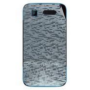 Snooky 43529 Mobile Skin Sticker For Intex Aqua T3 - silver