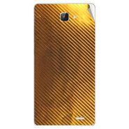 Snooky 43605 Mobile Skin Sticker For Intex Aqua I5 Hd - Golden