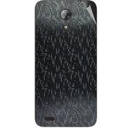 Snooky 43704 Mobile Skin Sticker For Intex Aqua Style Mini - Black