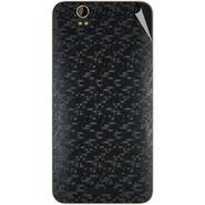 Snooky 43884 Mobile Skin Sticker For Lava Iris X1 - Black