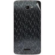 Snooky 44220 Mobile Skin Sticker For Micromax Canvas Elanza 2 A121 - Black