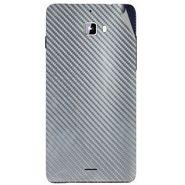 Snooky 44310 Mobile Skin Sticker For Micromax Canvas Nitro A310 - silver
