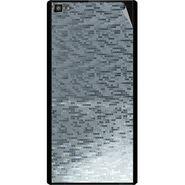 Snooky 44393 Mobile Skin Sticker For Xolo Hive 8X 1000 - silver