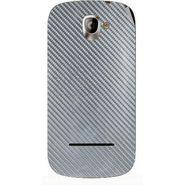 Snooky 44406 Mobile Skin Sticker For Xolo A500 - silver