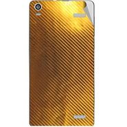 Snooky 44481 Mobile Skin Sticker For Xolo A1000s - Golden