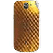 Snooky 44541 Mobile Skin Sticker For Xolo Q600 - Golden