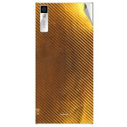 Snooky 44553 Mobile Skin Sticker For Xolo Q600s - Golden