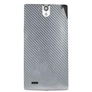 Snooky 44670 Mobile Skin Sticker For Xolo Q1010i - silver