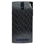 Snooky 44688 Mobile Skin Sticker For Xolo Q2000 - Black