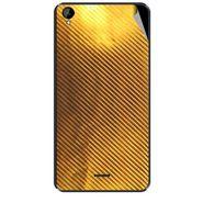 Snooky 44697 Mobile Skin Sticker For Xolo Q2000L - Golden