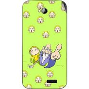 Snooky 46002 Digital Print Mobile Skin Sticker For Micromax Bolt A089 - Green