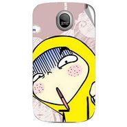 Snooky 46033 Digital Print Mobile Skin Sticker For Micromax Ninja A89 - Multicolour