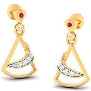 Kiara Sterling Silver Divya Earrings_6299e