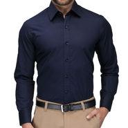 Full Sleeves Cotton Shirt_nbsht - Navy