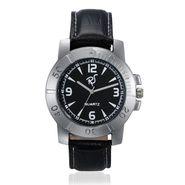 Rico Sordi Analog Round Dial Watch For Men_Rsmwl73 - Black