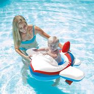 Intex 59586 Kiddie Aeroplane Shape Inflatable Swim Pool Water Float
