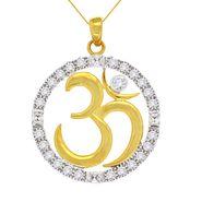 Spargz Brass Metal Pendant_Aip044