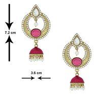 Spargz Alloy Metal Earring_Aier175