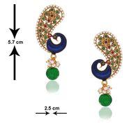 Spargz Brass Metal Earring_Aier207