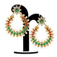Spargz Brass Metal Earring_Aier313