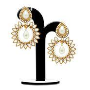 Spargz Brass Metal Earring_Aier331