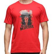 Effit Half Sleeves Round Neck Tshirt_Etscrn003 - Red