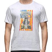 Effit Half Sleeves Round Neck Tshirt_Etscrnl011 - Light Grey