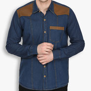 Stylox Cotton Shirt_dbdnm221 - Dark Blue