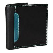 Spire Stylish Leather Wallet For Men_Smw147 - Black