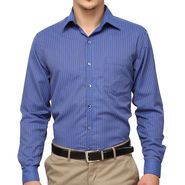 Copperline 100% Cotton Shirt For Men_CPL1181 - Blue