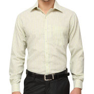 Copperline 100% Cotton Shirt For Men_CPL1185 - Yellow