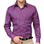 Copperline 100% Cotton Shirt For Men_CPL1192 - Purple
