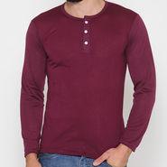 Rico Sordi Full Sleeves Cotton Tshirt_Rsh03 - Maroon