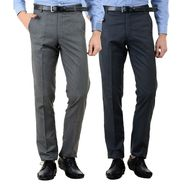 Pack of 2 American Elm Formal Trousers For Men_Tr05