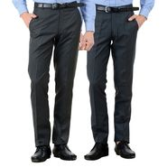 Pack of 2 American Elm Formal Trousers For Men_Tr09