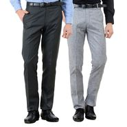Pack of 2 American Elm Formal Trousers For Men_Tr14