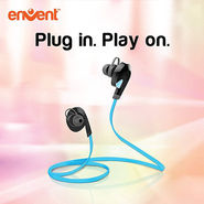 LiveTune Bluetooth Earphone With Mic (Blue)
