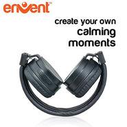 Envent foldable Bluetooth Headphone LiveFun 560 (Black)