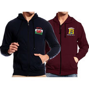 Pack of 2 Good Karma Full Sleeves Sweatshirts For Men_Skh2036