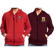 Pack of 2 Good Karma Full Sleeves Sweatshirts For Men_Skh3436