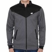 Branded Slim Fit Jacket For Men_Nbblack - Black & Grey