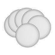 Mehul Sonata Sunrise Melamine Dinner Plates