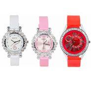 Combo of 3 Adine Women Wrist Watch_Ad20006