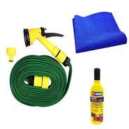 Speedwav Pressure Spray Jet Gun 10meter+Abro Shampoo100ml+Microfiber Cloth-34827