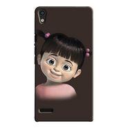 Snooky Digital Print Hard Back Case Cover For Huawei Ascend P6 Td12425