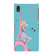 Snooky Digital Print Hard Back Cover For Sony Xperia Z2  Td11788