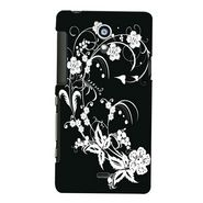 Snooky Digital Print Hard Back Case Cover For Sony Xperia T Lt30p Td12811