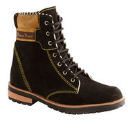 Bacca bucci Suede Leather Boots 971 - Black