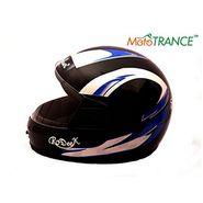 Mototrance AF2053 Autofurnish Multi Graphics Full Face Helmet (Black)